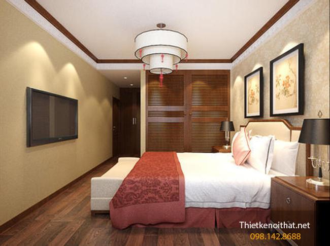 thiết kế nội thất phòng ngủ nhỏ 10m2